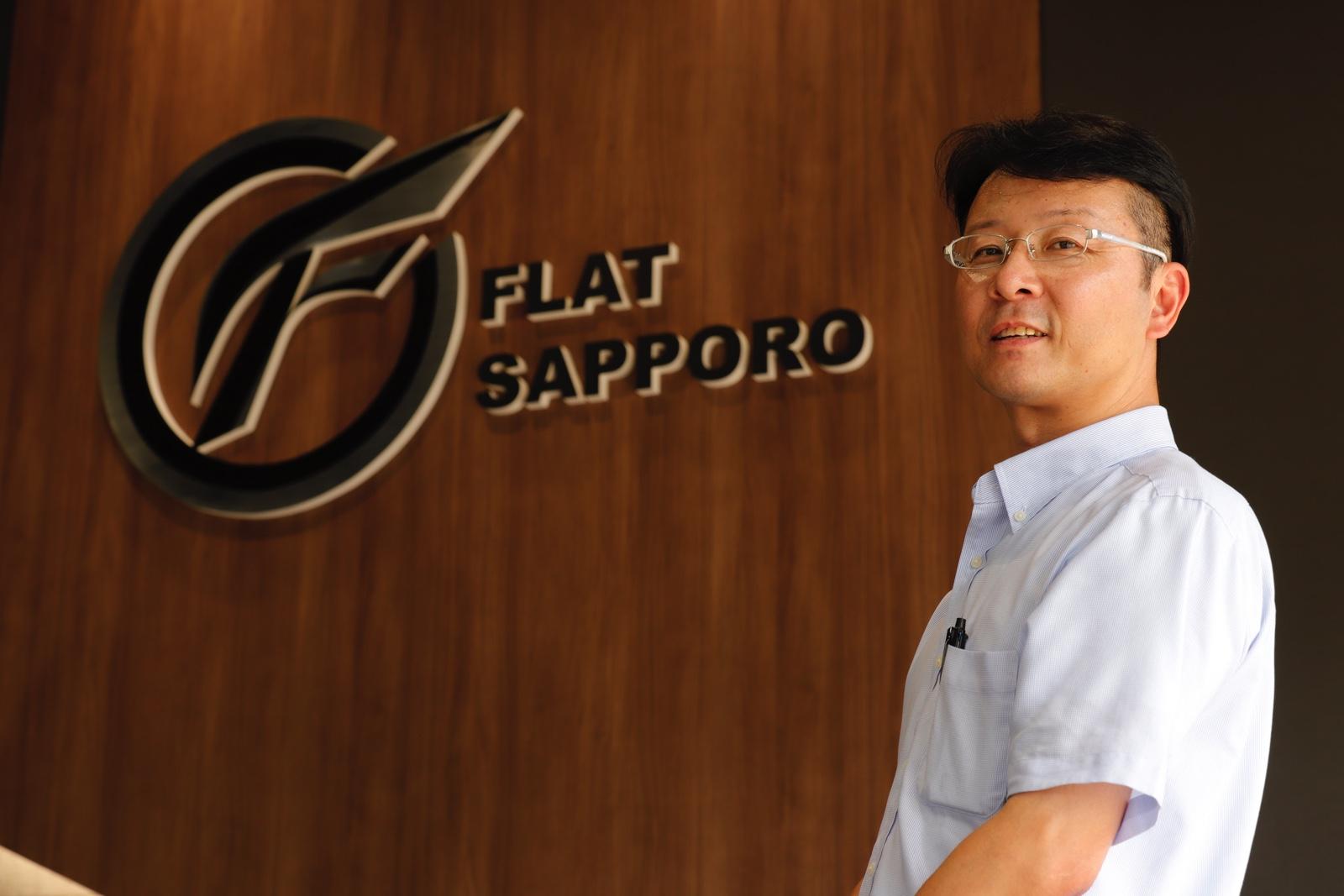 FLAT SAPPORO店長 遠藤
